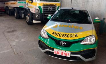 Autoescola Guedes - Frota de veículos